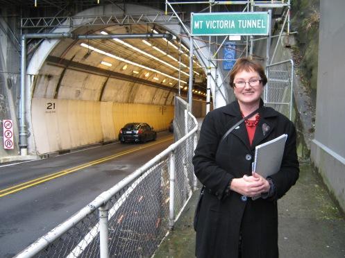 Mt Vic tunnel