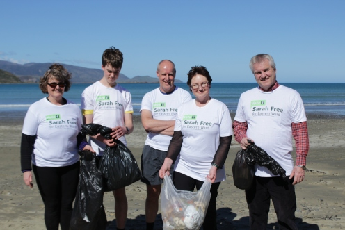 lyall bay beach clean up! 012